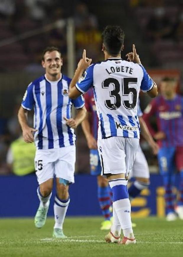 Les Belges à l'étranger - Adnan Januzaj et la Real Sociedad s'imposent 1-0 contre Levante
