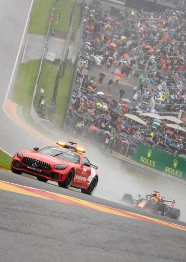 La F1 envisage de changer ses règlements après le chaos du GP de Spa-Francorchamps
