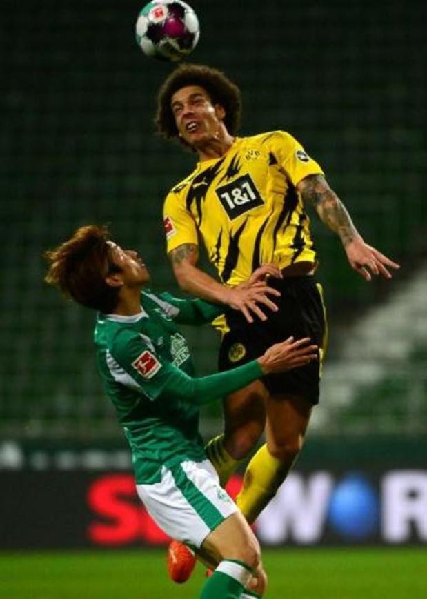 Les Belges à l'étranger - Dortmund s'est imposé à Brême, Manchester City bloqué par West Bromwich