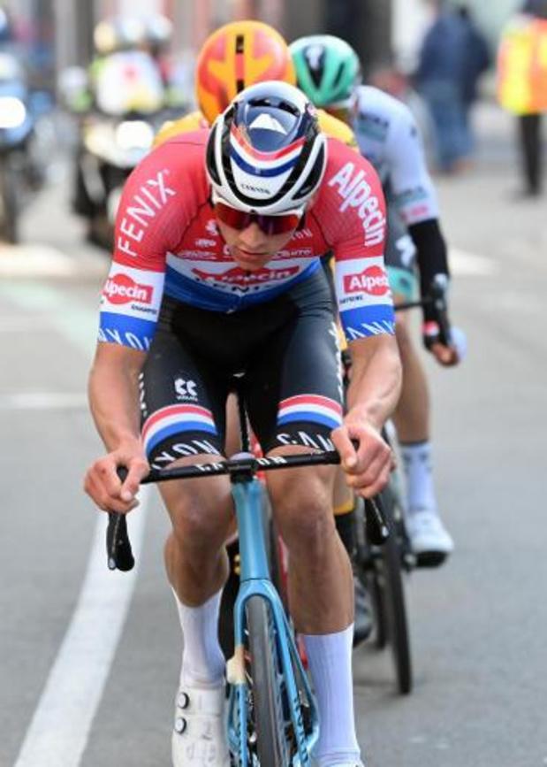 Kuurne-Bruxelles-Kuurne - Mads Pedersen gagne au sprint, il a manqué 2 kilomètres à Mathieu van der Poel