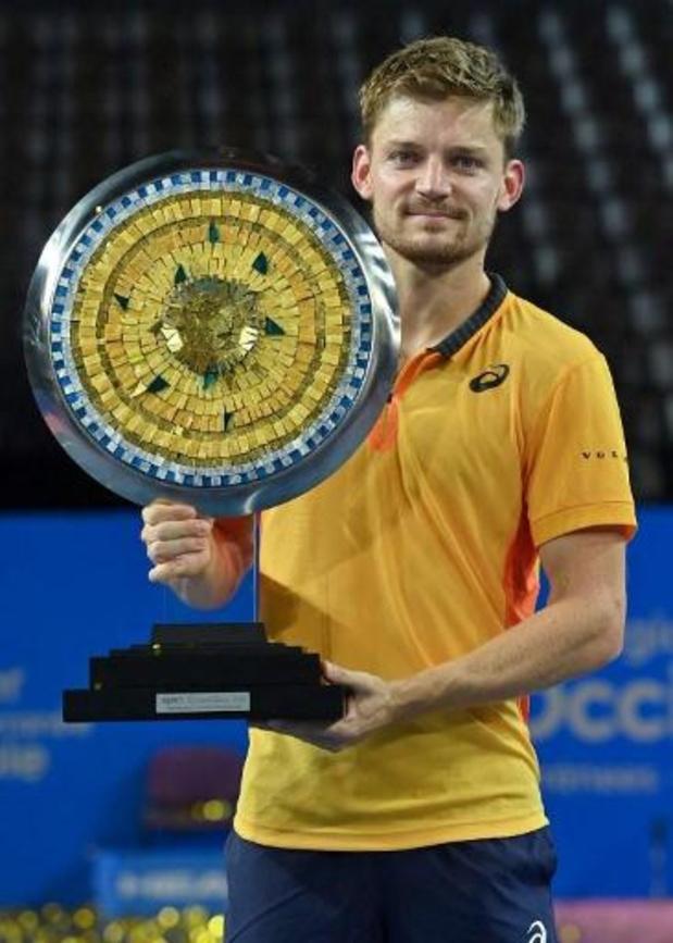 David Goffin, vainqueur à Montpellier, regagne une place et redevient 14e mondial