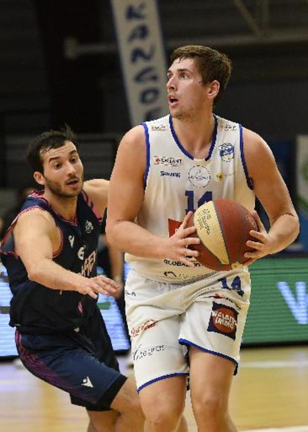 Jonas Foerts prolonge son contrat à Malines pour une saison de plus au Basket