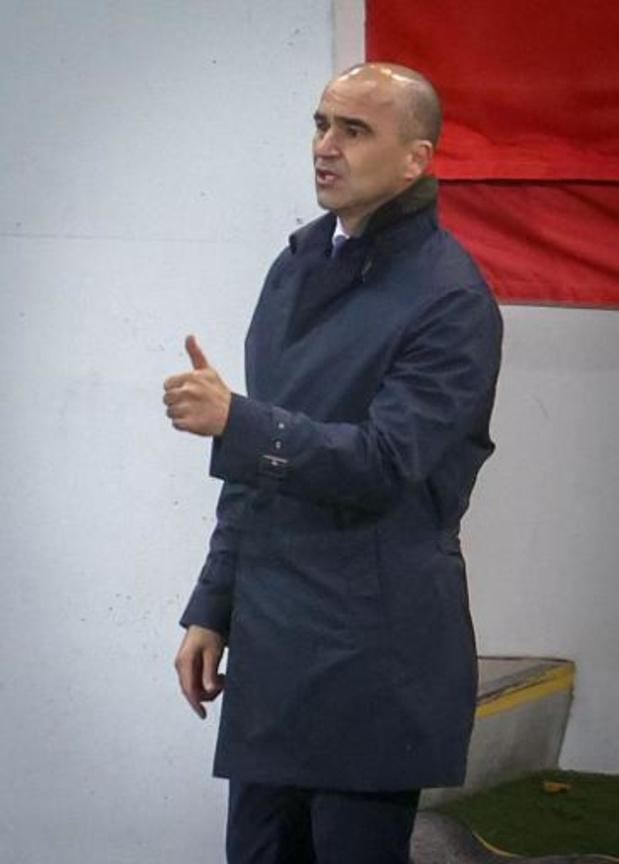"""Diables Rouges - Roberto Martinez salue """"le changement de mentalité à la mi-temps"""" des Diables"""