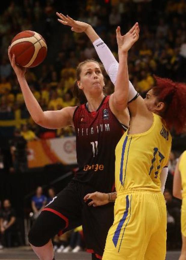 L'horaire de l'Euro de basket féminin confirmé, la Belgique jouera ses matches à 15h00