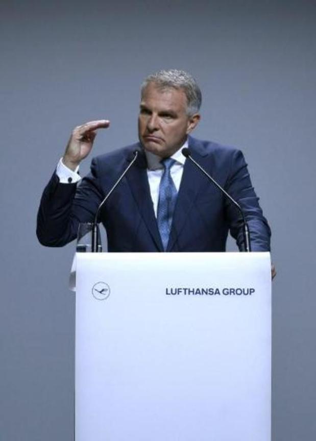 La restructuration de Brussels Airlines reste nécessaire, selon le CEO de Lufthansa