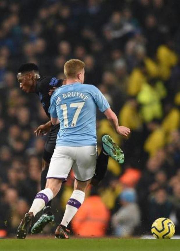 Les Belges à l'étranger - Man City et De Bruyne piégés par Crystal Palace, Trossard buteur avec Brighton