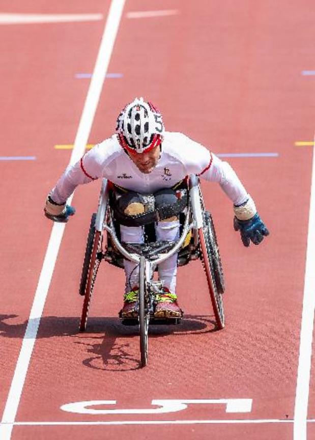 Jeux Paralympiques: Peter Genyn décroche l'or sur 100 m, le bronze pour Roger Habsch