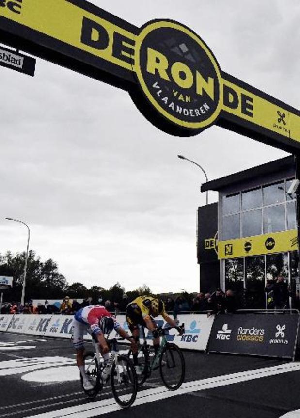 Tour des Flandres: Mathieu van der Poel accompagné de Dries De Bondt dans la quête d'un doublé