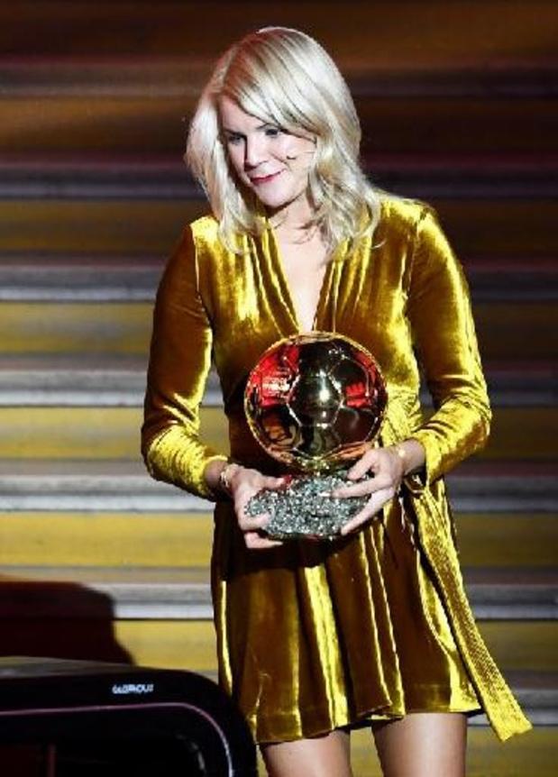 Pas de Belge parmi les vingt nommées du Ballon d'Or féminin