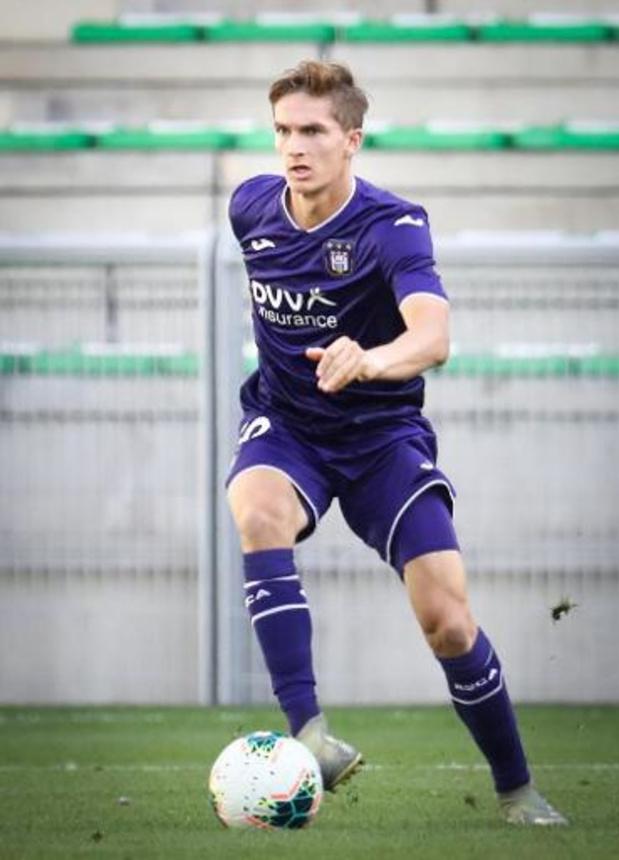 Anderlecht prête Sieben Dewaele à Heerenveen