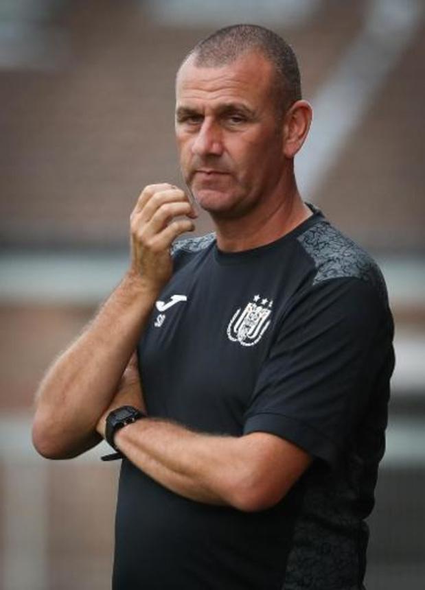 """""""Anderlecht ne changera pas sa philosophie"""", annonce Simon Davies avant le 'topper'"""