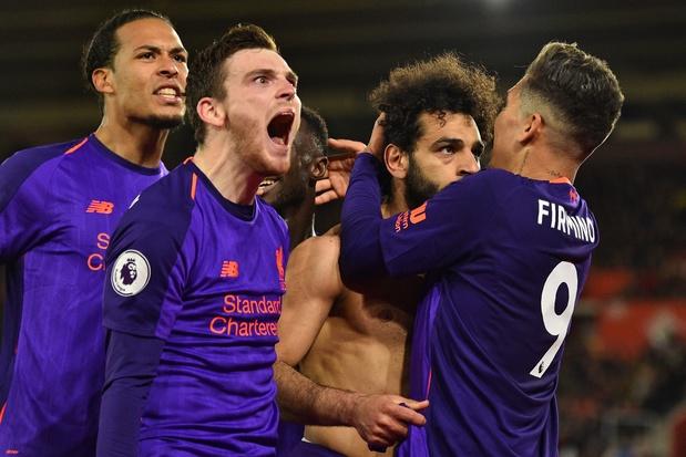 Salah marque enfin et relance Liverpool en Premier League