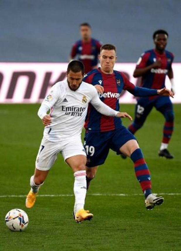 Le Real Madrid confirme qu'Eden Hazard souffre d'une blessure musculaire