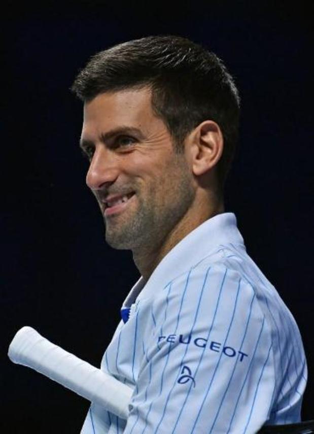 Novak Djokovic se retire des élections du conseil des joueurs de l'ATP