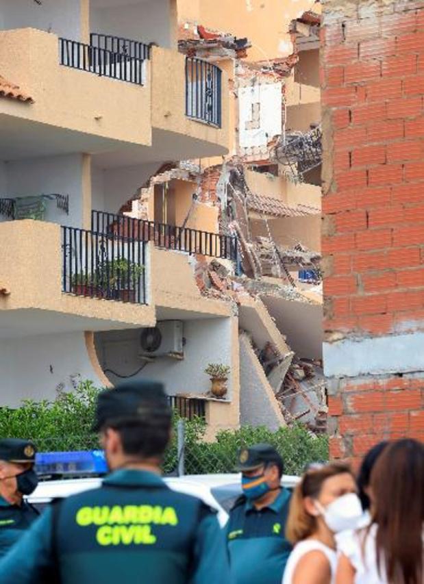 Twee doden onder puin ingestorte flats in Spaanse badplaats Peñíscola, geen vermisten meer