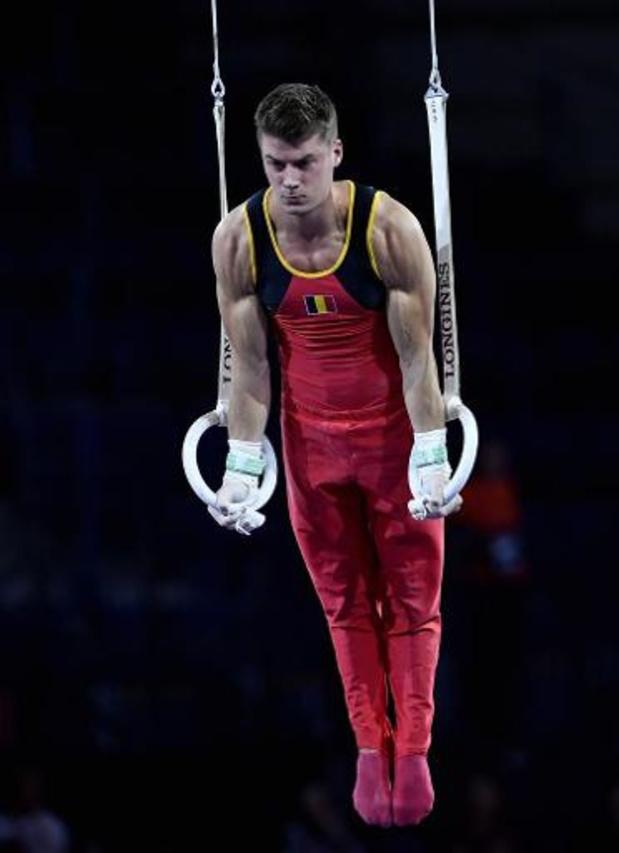 Mondiaux de gymnastique - L'équipe masculine belge termine 18e des qualifications