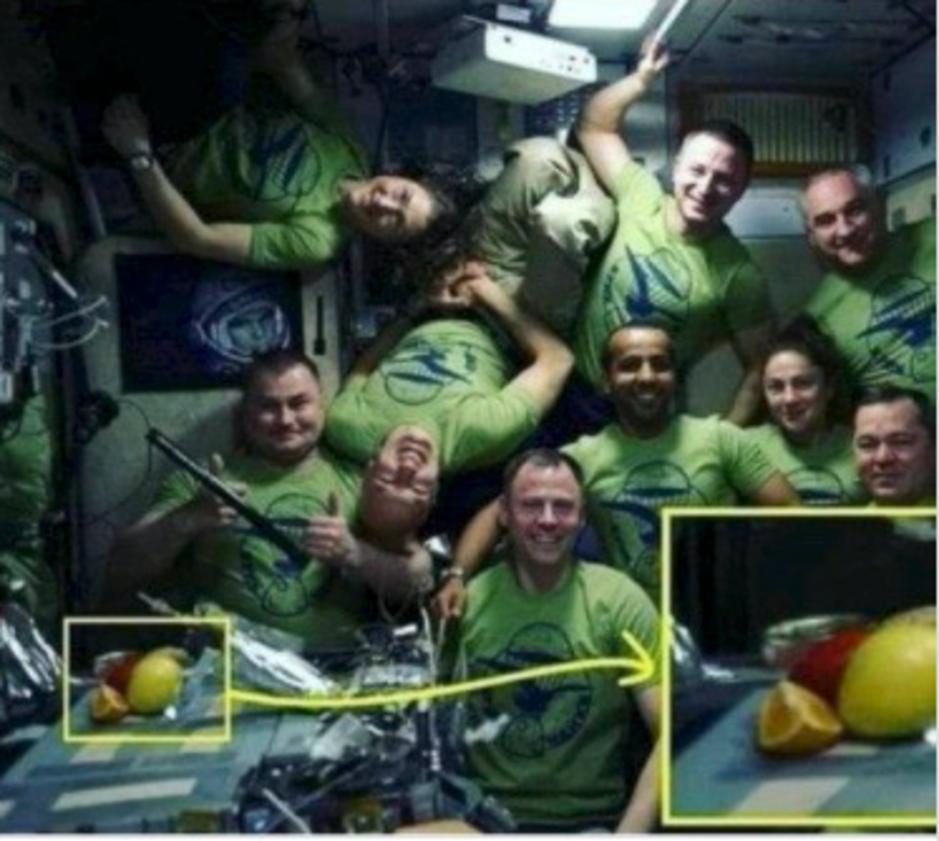Factcheck: ja, deze foto werd in het Internationaal Ruimtestation genomen