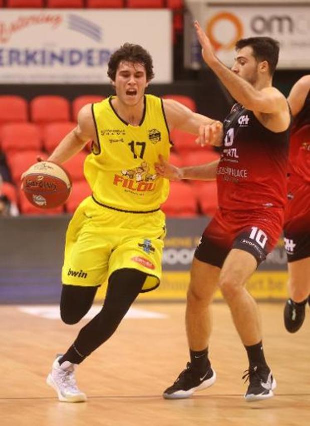 Ligue des Champions de basket - Ostende craque dans le dernier quart-temps à Brindisi