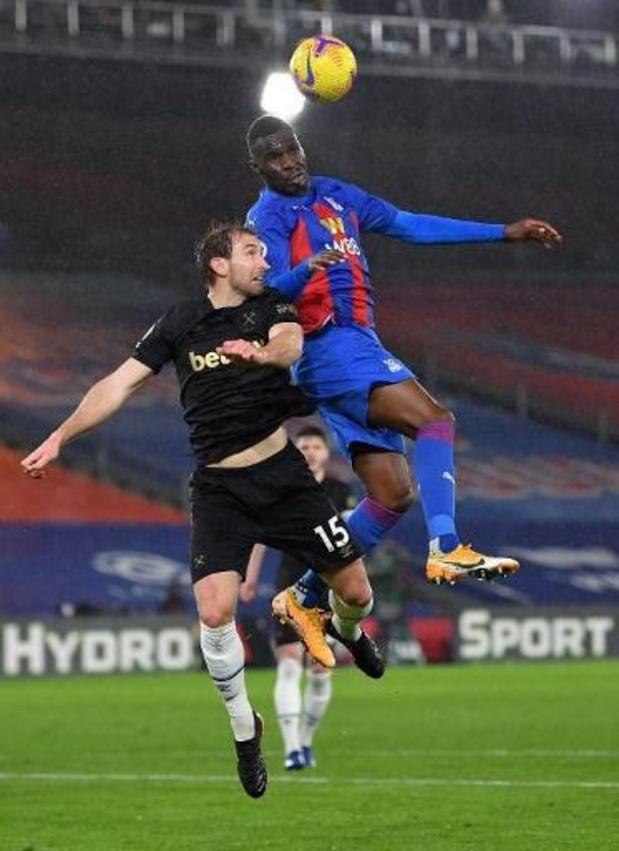 Les Belges à l'étranger - Batshuayi marque son 1er but lors de la défaite de Crystal Palace contre West Ham