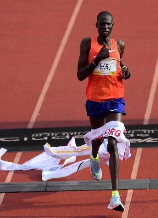 Titus Ekiru loopt op vier na snelste marathon in Milaan