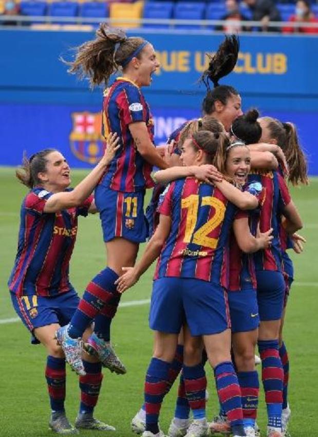 Ligues des Champions dames: Barcelone premier finaliste après sa victoire sur le PSG en demi-finale retour