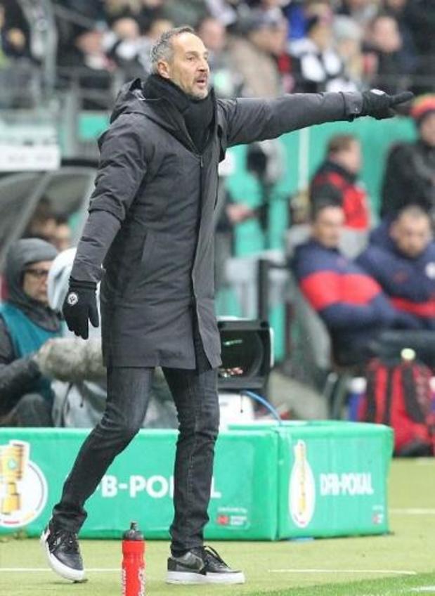 Frankfurt-coach Hütter verwacht stopzetting Europa League, UEFA zit morgen samen