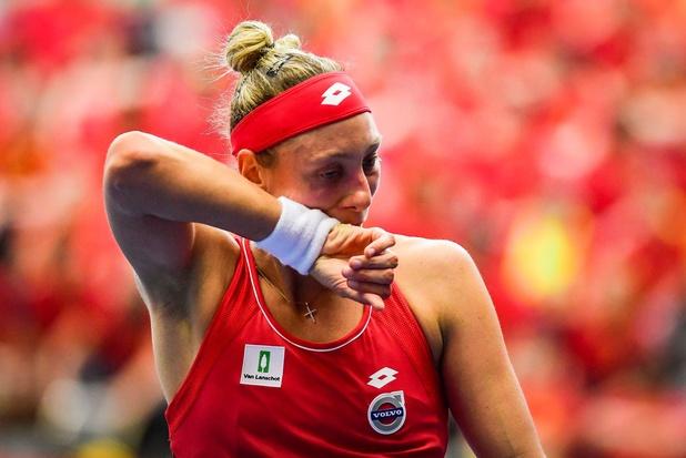 Fed Cup: Carla Suarez Navarro bat Yanina Wickmayer en 55 minutes, et égalise pour l'Espagne