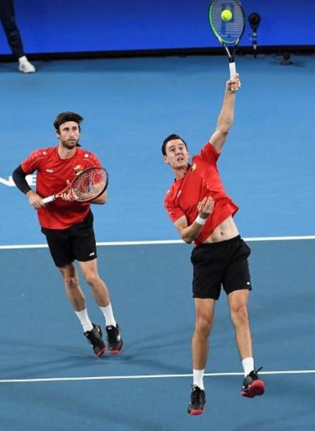 ATP Cordoba - Sander Gillé et Joran Vliegen sortis au 1er tour du double