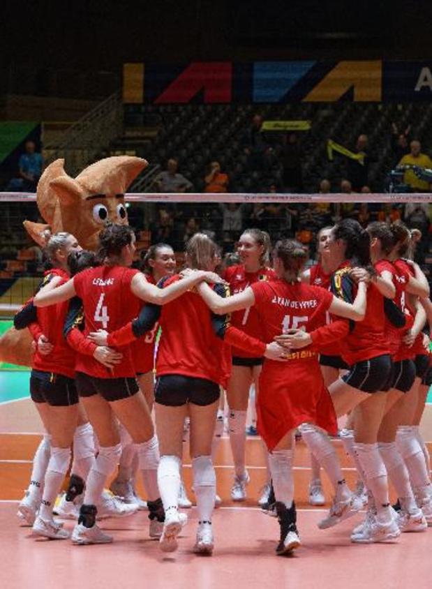 La Belgique bat la Pologne en cinq sets dans la Ligue des Nations féminine de volley