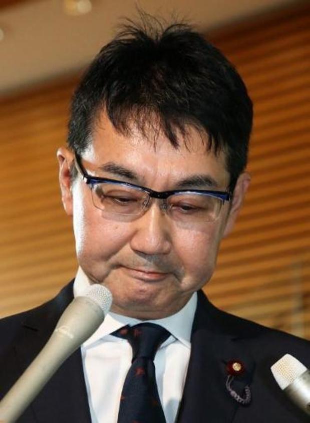 L'ex-ministre japonais de la Justice arrêté pour un scandale d'achat de voix
