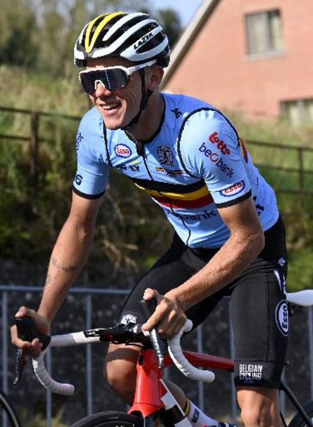 """WK wielrennen - Thibau Nys noemt zich een """"schaduwfavoriet"""": """"Ben geen topfavoriet"""""""