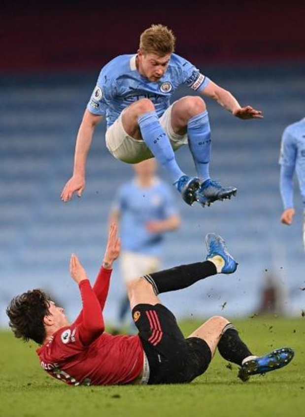 Les Belges à l'étranger - United remporte le 185e derby de Manchester (0-2) et met fin à la série de City
