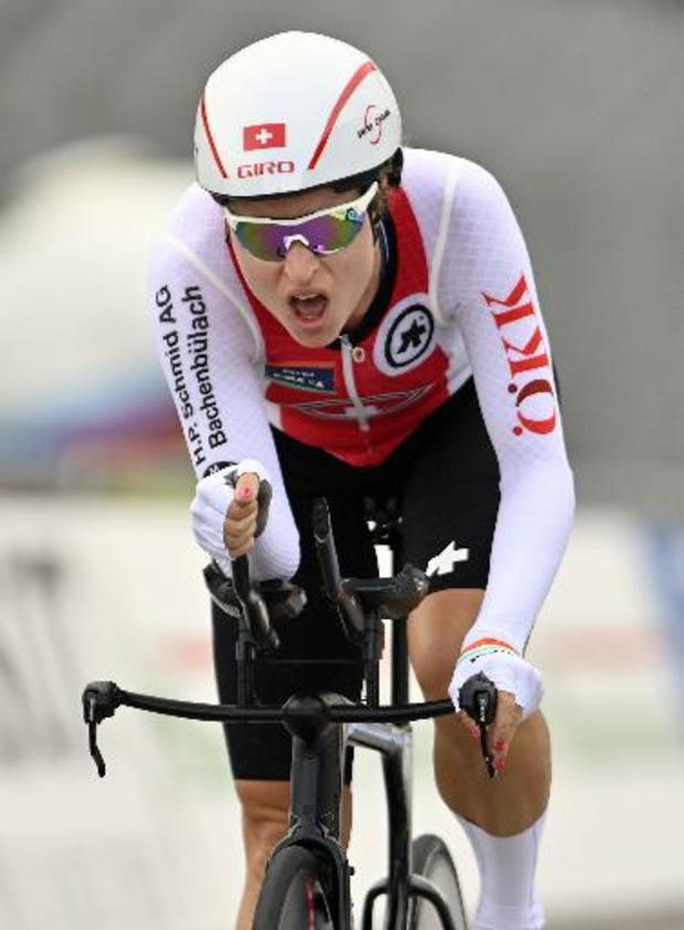 Euro de cyclisme: La Suissesse Marlen Reusser s'impose et met fin à l'hégémonie néerlandaise, Van De Vel 9e