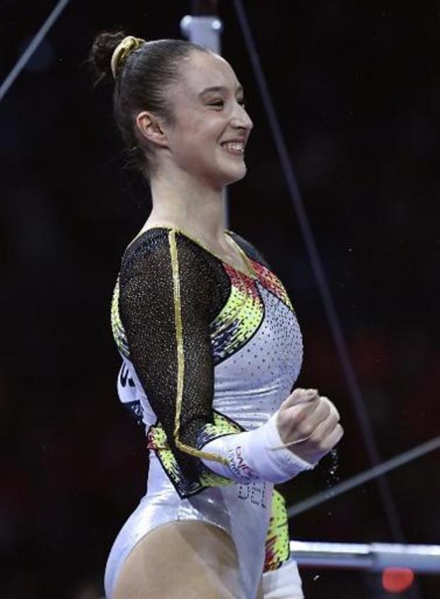 Les gymnastes se préparent pour Tokyo, Nina Derwael sera à la Coupe du monde au Japon