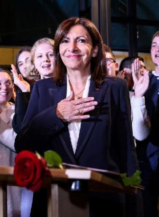 Election présidentielle en France - La maire de Paris Anne Hidalgo investie par le PS