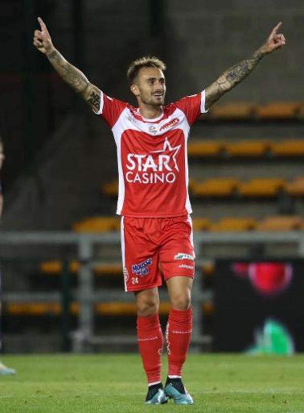 Jupiler Pro League - Moeskroen houdt de punten thuis en komt naast Club op de tweede plaats
