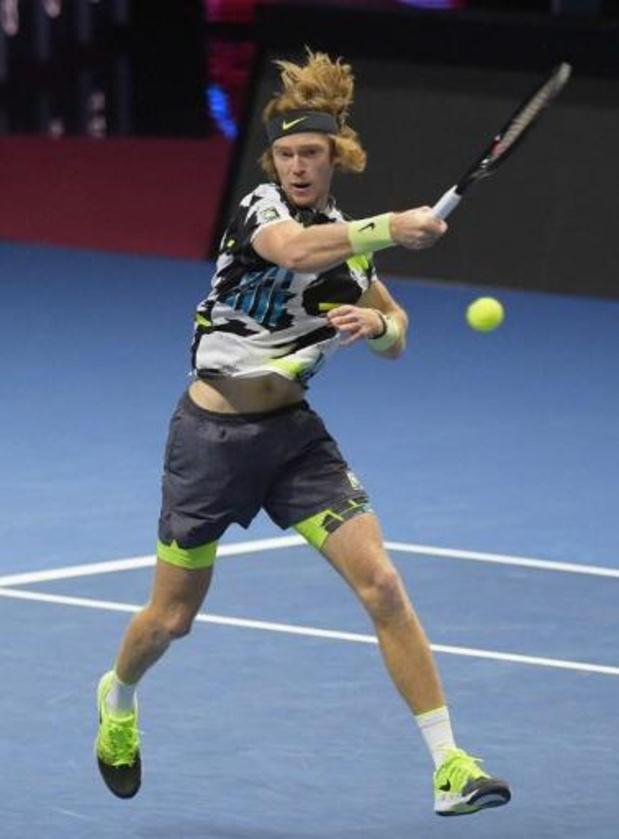 Andrey Rublev décroche un 6e titre ATP