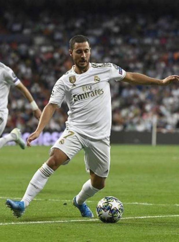 À nouveau papa, Eden Hazard (Real Madrid) n'a pas été sélectionné pour affronter Majorque