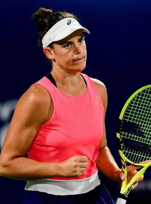 US Open - Brady schakelt Kerber uit in achtste finales