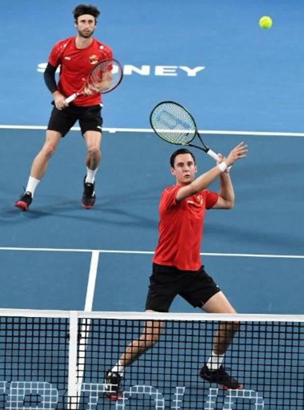 ATP Buenos Aires - Sander Gillé et Joran Vliegen battus en demi-finales