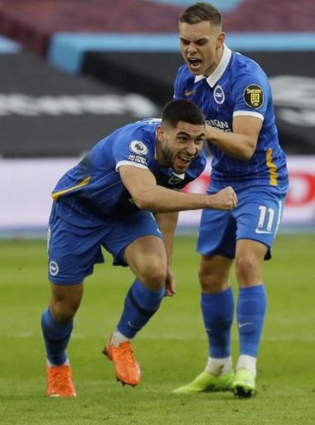 Les Belges à l'étranger - Le Hertha Berlin domine Schalke, deux assists de Trossard avec Brighton