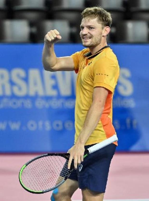 """ATP Monte Carlo - Goffin na zege tegen Cecchinato: """"Ik speelde solide op belangrijke momenten"""""""