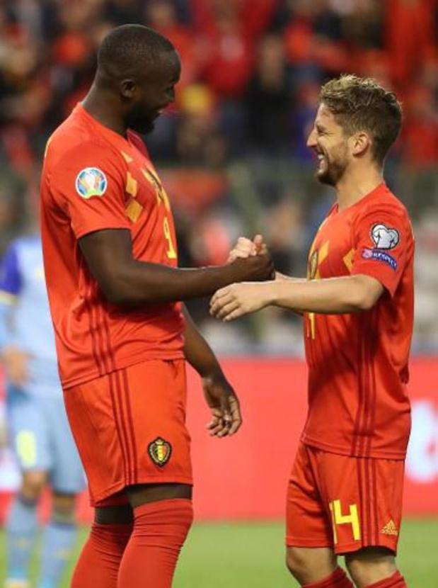 Belgen in het buitenland - Napoli zet grote stap naar bekerfinale met uitoverwinning bij Inter