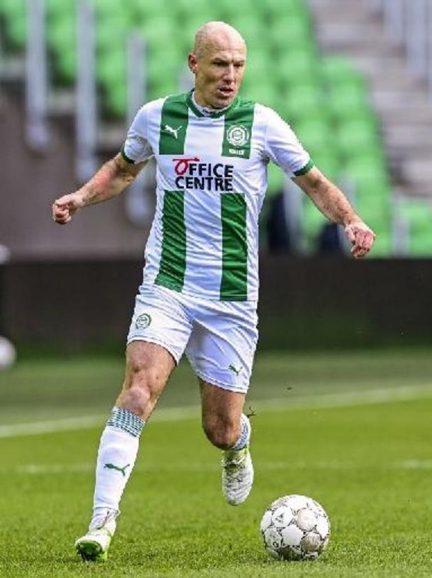Arjen Robben stopt definitief met voetballen