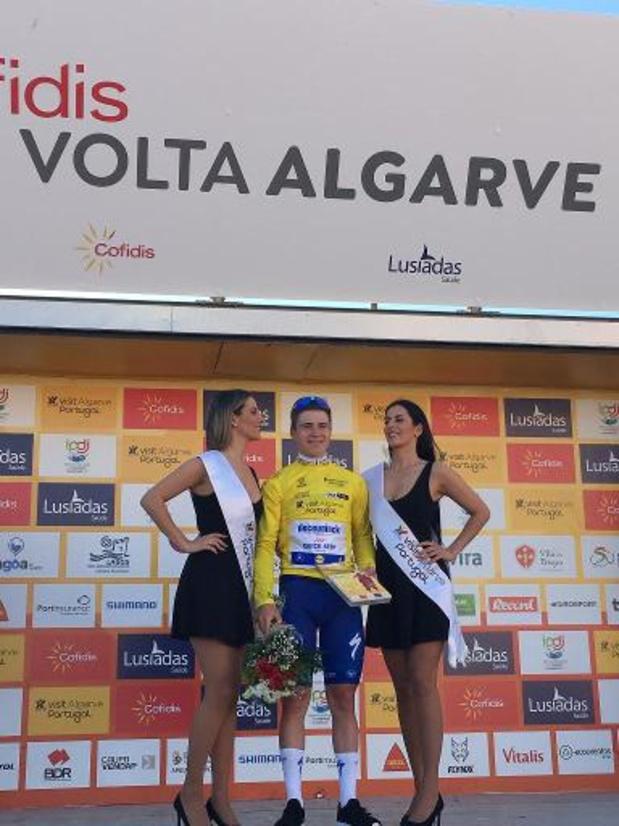 """Tour d'Algarve - Remco Evenepoel ne s'estime même pas encore """"au meilleur de sa forme"""""""