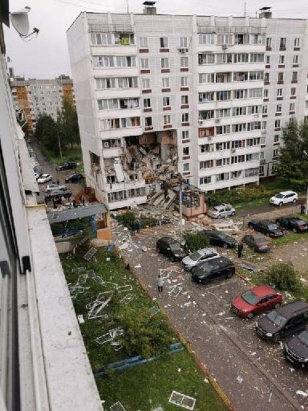 Doden en gewonden bij explosie in flatgebouw in buurt van Moskou