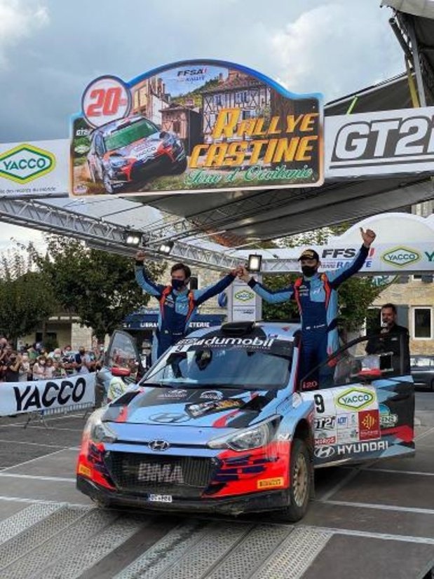 ERC - Grégoire Munster démarre le Rallye de Hongrie prudemment
