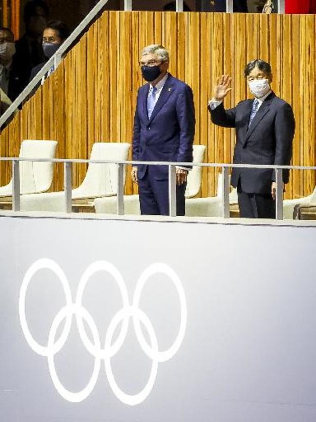 L'Empereur du Japon Naruhito ouvre officiellement les Jeux Olympiques de Tokyo