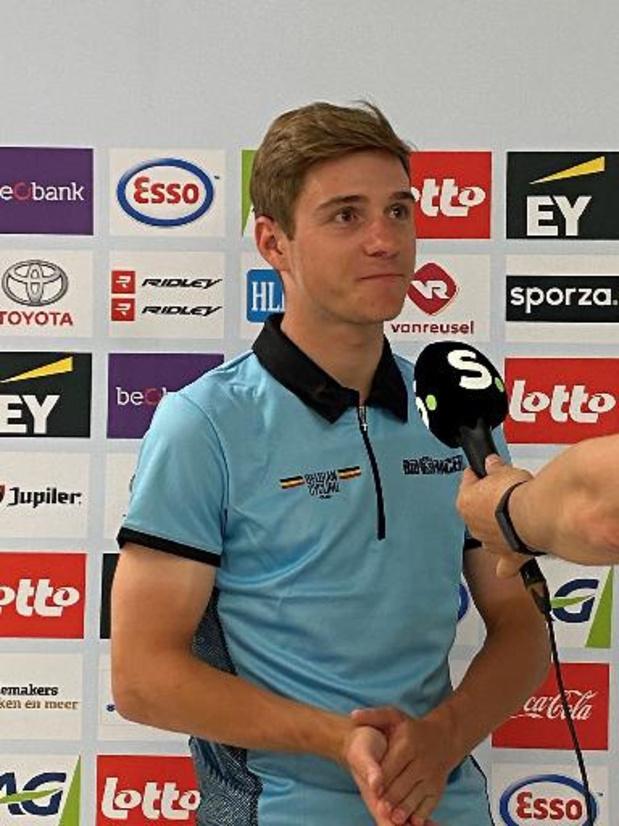 EK wielrennen - Evenepoel wil Lampaert aan derde WK-ticket helpen