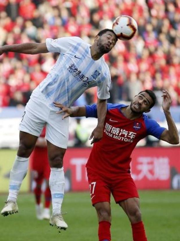 Mousa Dembélé (Guangzhou R&F) exclu samedi